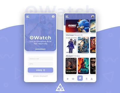 OWatch - Mobile App Design