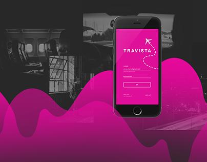 Travista app design