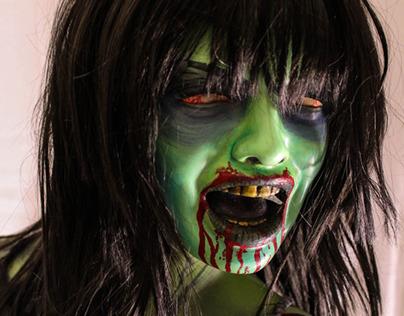 Life Sized Zombie Prop