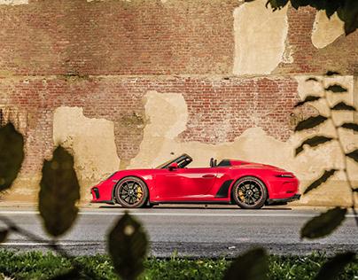 Porsche Speedster North of Italy