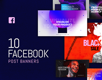 Facebook Post Banners v5