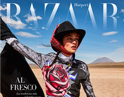 Harpers Bazar Mexico cover story