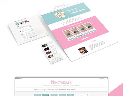 Website design for sale school portfolio templates
