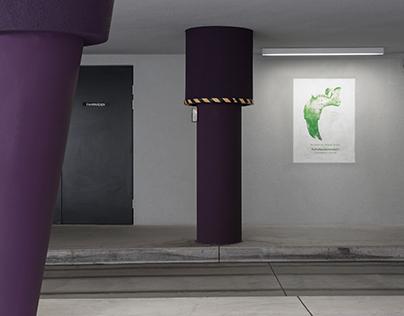 Screenprint the wall / Universalmuseum Joanneum