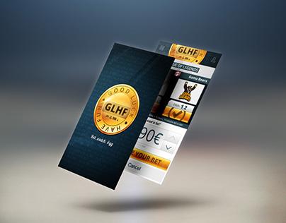 Good Luck Have Fun (GLHF) e-sport betting App