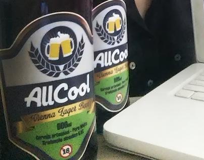 Rótulo Cerveja AllCool