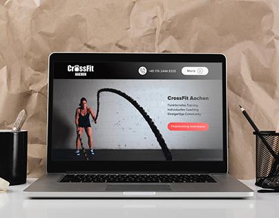 Redesign CrossFit Aachen website