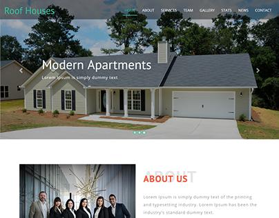Real Estate Corporate Business Website Development