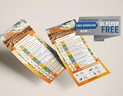 Free DL Flyer Design and Mockup Download