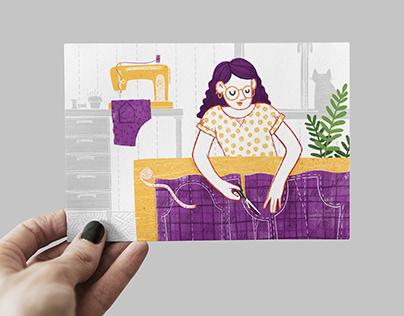 Иллюстрации для «Не без дела»