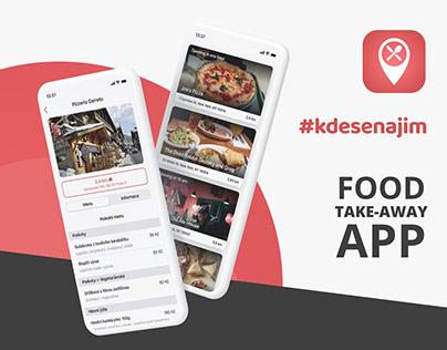 #kdesenajim - Food Take-away App