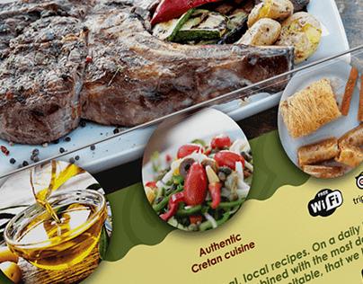 Flyer Design for Bourakis Restaurant