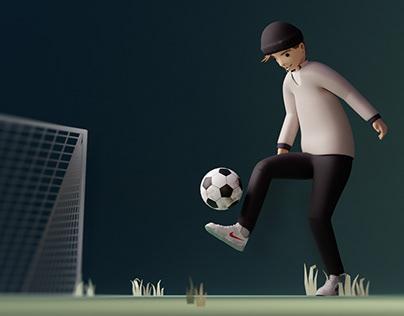 3D footy boi