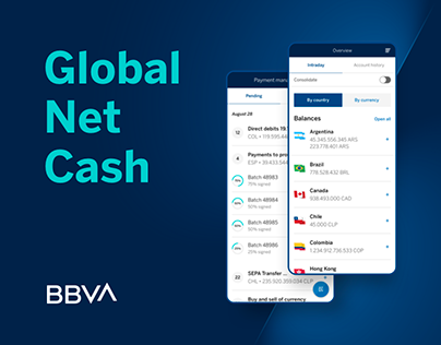 BBVA Global Net Cash App