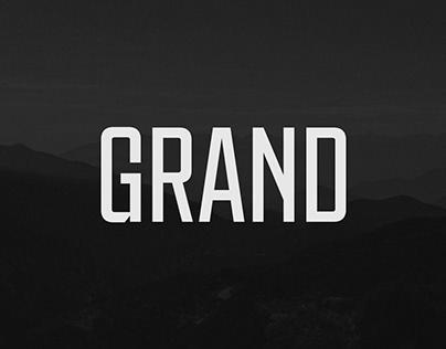 Grand typeface