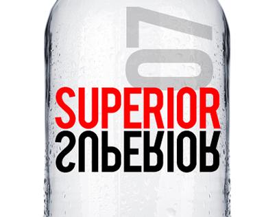 Superior Vodka Package Concept Design