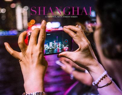 Shanghai - A Neon Street-Series
