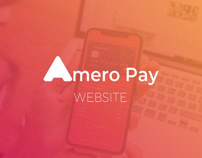 AmeroPay Web Site design