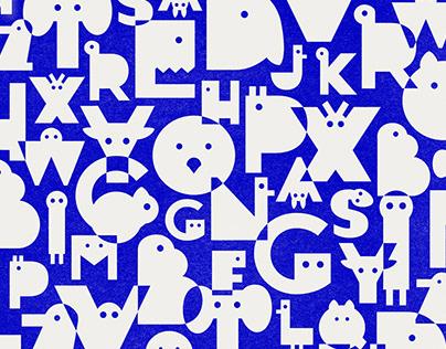 ELEFONT | the animal font