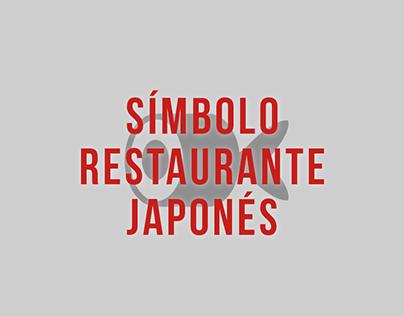 Símbolo restaurante japonés