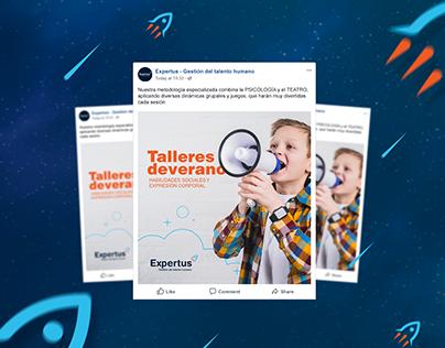 Expertus / Social media