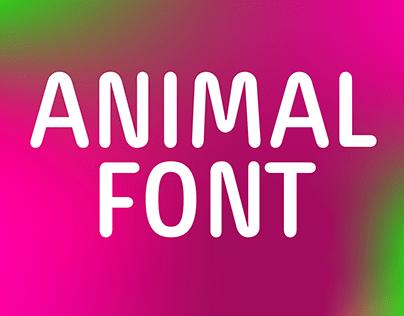 Animal Font