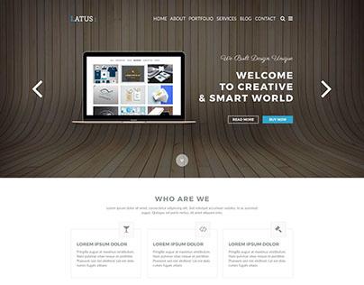 Latus | One Page Portfolio HTML5 Template