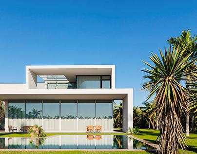 Sea Front Villa. CGI.