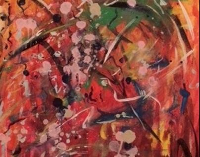 Fusion- Acrylic on Canvas