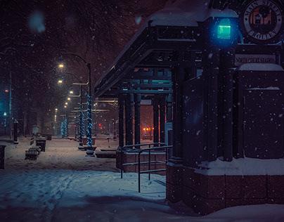 Memphis Noir - Snow and Rain Days