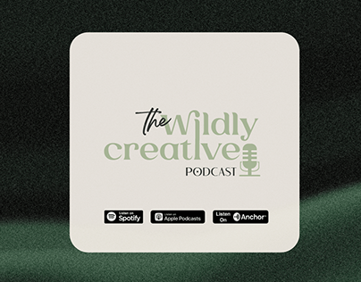 the Wildly Creative podcast design