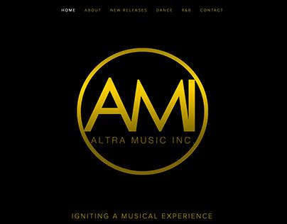 Alta Music Inc. Website Design