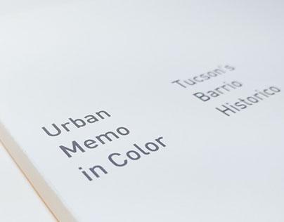 Urban Memo in Color