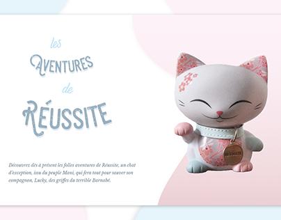 An extraordinary adventure - Webdesign