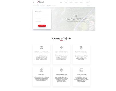 Sherreti Rent-a-Car Website Redesign