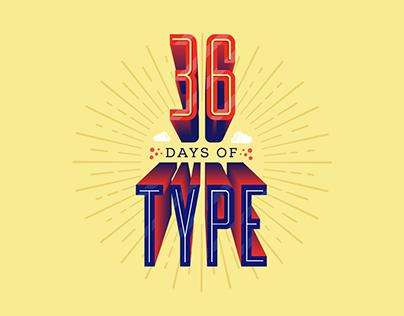 36 Days of Type 2015