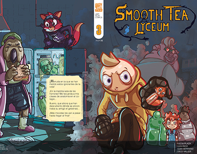 Smooth Tea Lyceum #3 - Cómic