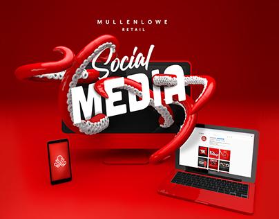 MullenLowe Retail - Social Media