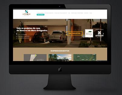 Site - Lotes e Cia - WordPress