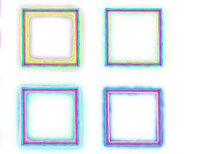 Neon effect logo