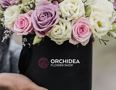 Orchidea Flower Shop - Branding