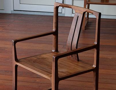 Black Walnut Chair #2