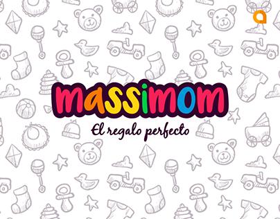 MASSIMOM | Diseño de Logotipo