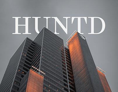 Huntd - UX UI design