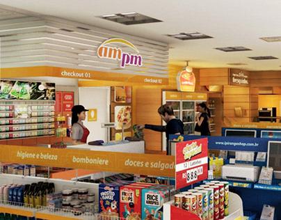 Ampm - Environmental Graphic Design