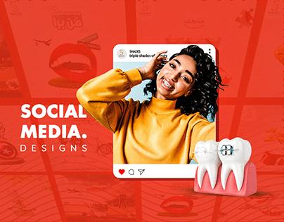 Shades Dental Clinic - Social Media Design
