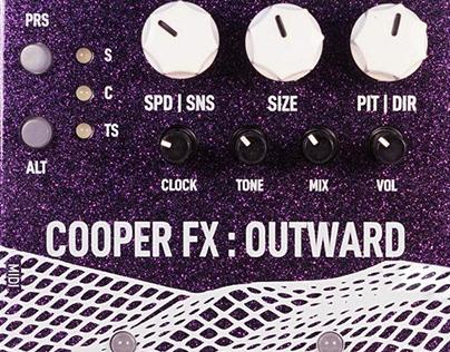 Cooper FX Outward Guitar Pedal DSP Programming