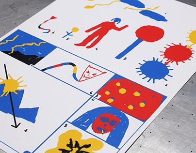 Zoom / Eloy Arribas - Trabajo de serigrafía