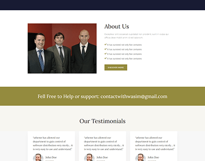 Lawyer Website Use WordPress Theme And Plugin