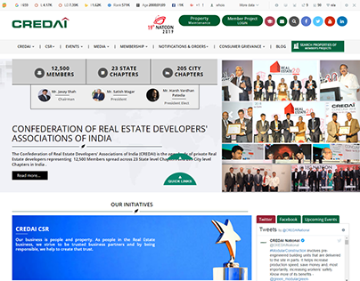 Real Estate Developers' Associations of India   CREDAI
